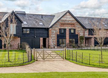 Faulston Lane, Bishopstone, Salisbury SP5. 4 bed barn conversion for sale