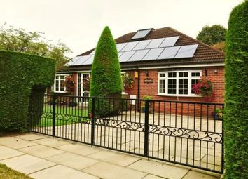 Thumbnail 4 bed bungalow for sale in Bank Street, Glazebrook, Warrington, Cheshire
