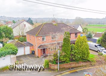 Thumbnail 3 bed semi-detached house for sale in Cold Bath Road, Caerleon Village, Newport