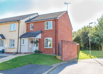 Thumbnail 3 bedroom end terrace house for sale in Hedge Row Close, Copplestone, Crediton