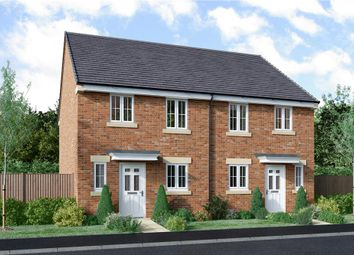 """Thumbnail 3 bed semi-detached house for sale in """"Brock - Discount To Mkt"""" at Church Road, Warton, Preston"""