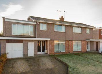 Thumbnail 4 bed semi-detached house for sale in 43 Barnton Park View, Barnton