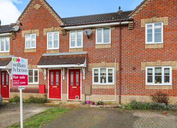 Thumbnail 2 bed terraced house for sale in Teasel Road, Attleborough