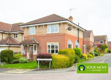 Thumbnail 3 bed detached house for sale in Chapman Close, Strensall, York