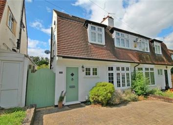 Thumbnail 4 bed semi-detached house for sale in Ruden Way, Epsom