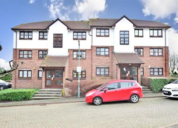 Thumbnail 1 bed flat for sale in Swallow Close, Greenhithe, Kent