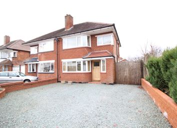 Thumbnail 3 bed semi-detached house to rent in Falstaff Road, Shirley, Solihull, West Midlands