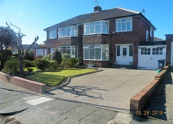 3 bed semi-detached house to rent in Briardene Crescent, Gosforth, Newcastle Upon Tyne NE3