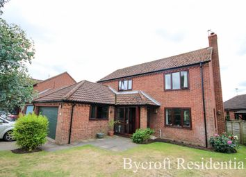 Thumbnail 4 bed detached house for sale in Kirby Close, Martham, Great Yarmouth