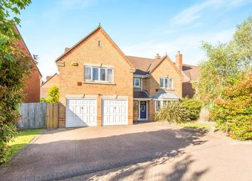 Thumbnail 5 bedroom detached house for sale in Uxbridge Close, Sarisbury Green, Southampton