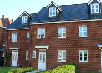 Thumbnail 4 bed town house to rent in Wychwood Village, Weston, Cheshire
