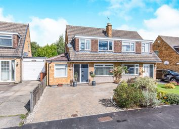Thumbnail 3 bed semi-detached house for sale in Silverdale Avenue, Leeds