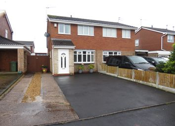 Thumbnail 3 bed semi-detached house for sale in Aldersleigh Drive, Stafford
