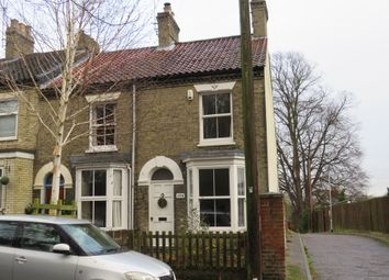 Thumbnail 3 bed end terrace house for sale in Edinburgh Road, Norwich