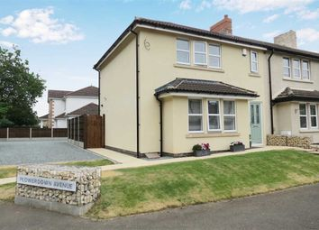 Thumbnail 3 bed end terrace house for sale in Flowerdown Avenue, Cranwell, Sleaford