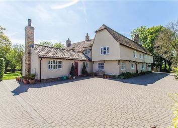 Thumbnail 5 bedroom detached house for sale in Main Street, Caldecote, Cambridge