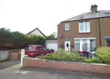 Thumbnail 2 bed semi-detached house for sale in Sherwood Crescent, Lockerbie, Dumfries And Galloway