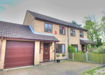 Thumbnail 2 bed semi-detached house for sale in The Crofts, Norwich