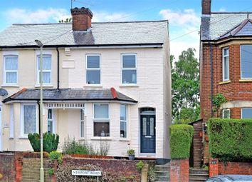 Thumbnail 3 bed semi-detached house for sale in Ventnor Terrace, Newport Road, Aldershot