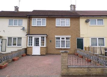 Thumbnail 3 bed terraced house for sale in Bedale Drive, Mowmacre Hill, Leicester, Leicestershire