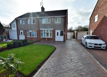 Thumbnail 3 bed semi-detached house for sale in The Downs, Silverdale, Nottingham