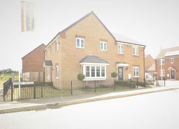 Thumbnail 3 bedroom semi-detached house for sale in The Normanby, Wardentree Lane, Pinchbeck, Spalding