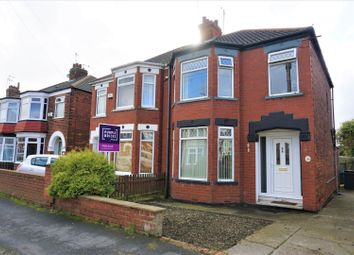 Thumbnail 3 bed semi-detached house for sale in Guildford Avenue, Hull