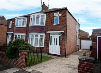 Thumbnail 3 bed semi-detached house for sale in Kinloch Road, Normanby, Middlesbrough