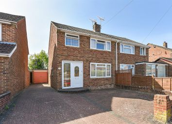 Thumbnail 3 bed semi-detached house for sale in Valencia Way, Andover