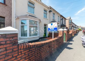 Thumbnail 4 bedroom terraced house for sale in Caerleon Road, Newport, Gwent.