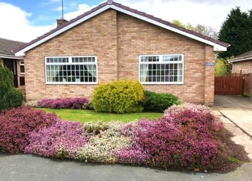 Thumbnail 3 bed bungalow for sale in Laburnum Avenue, Cranswick, Driffield