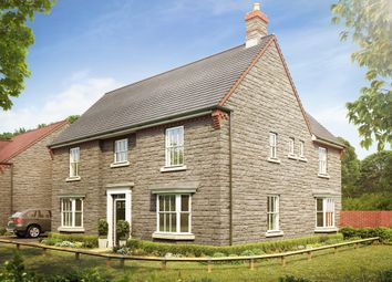 "Thumbnail 5 bed detached house for sale in ""Earlswood"" at Langport Road, Somerton"
