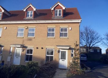 Thumbnail 3 bed town house to rent in St. Marks Court, Westerhope, Newcastle Upon Tyne
