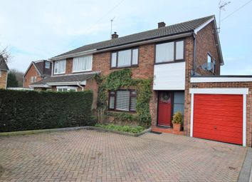 Thumbnail 3 bed semi-detached house for sale in Ullswater Avenue, Farnborough