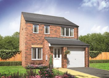 "Thumbnail 3 bed semi-detached house for sale in ""The Rufford"" at Old Crow Hall Lane, Cramlington"