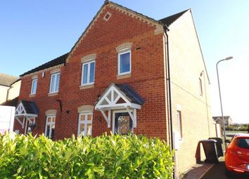 Thumbnail 3 bed semi-detached house for sale in Barberry, Coulby Newham, Middlesbrough