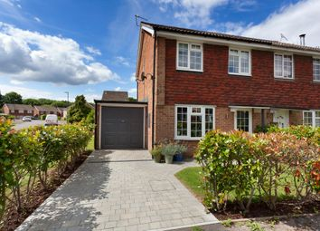 Thumbnail 3 bed semi-detached house for sale in The Fieldings, Southwater, Horsham