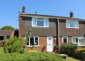 Thumbnail 3 bed semi-detached house for sale in Spaines, Great Bedwyn