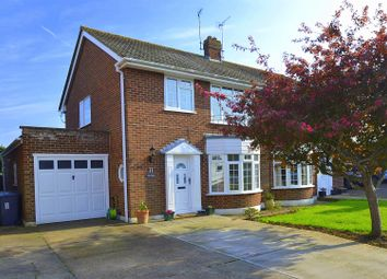 Thumbnail 3 bed semi-detached house for sale in Lodge Avenue, Willingdon, Eastbourne