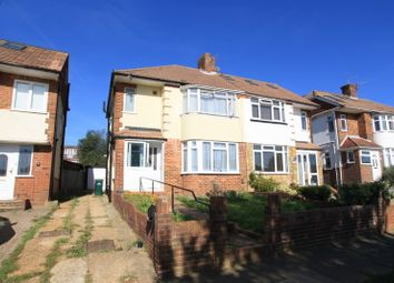 Thumbnail 3 bed semi-detached house to rent in Fallowfield Crescent, Hove