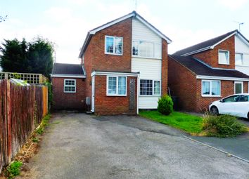 Thumbnail 3 bed detached house for sale in Peregrine Close, Swindon