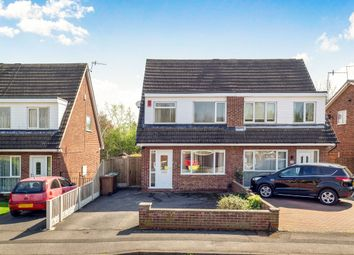 Thumbnail 3 bed semi-detached house for sale in Willaston Close, Bulwell, Nottingham