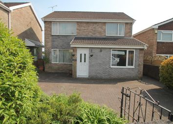 Thumbnail 4 bed detached house for sale in Heol West Plas, Coity, Bridgend