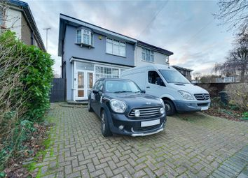 Thumbnail 3 bed semi-detached house for sale in Park Crescent, Enfield