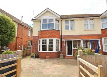 Thumbnail 4 bedroom semi-detached house for sale in Gannon Road, Worthing, West Sussex