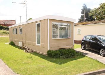 Thumbnail 1 bedroom mobile/park home for sale in Main Road, Willows Riverside Park, Windsor