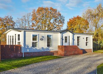 Thumbnail 2 bedroom mobile/park home for sale in The Vale Of York, Strensall, York