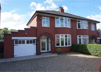 Thumbnail 3 bed semi-detached house for sale in Higher Walton Road, Preston