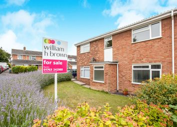 Thumbnail 4 bedroom semi-detached house for sale in Gage Close, Royston