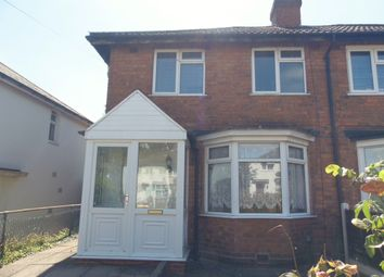 Thumbnail 2 bed semi-detached house to rent in Borrowdale Road, Northfield, Birmingham